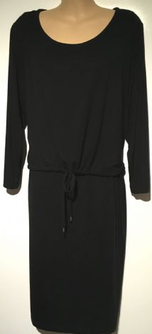 H&M MAMA BLACK TIE FRONT NURSING DRESS SIZE XL 18-20